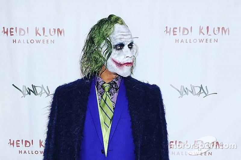 Фото: образ Хэмилтона на Хэллоуин