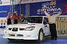 ERC Estonia ERC: Takale/Young finish second on ERC debut in Open category