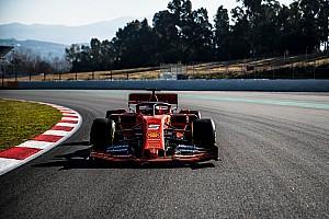 Ferrari вперше вивела новий болід Ф1 на трек в Барселоні