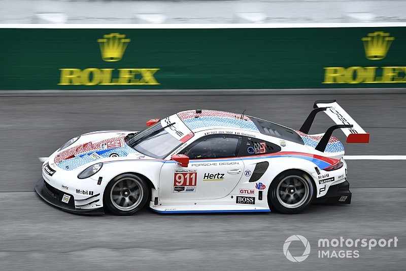 Tandy: Porsche GTLM pole a result of tow from Corvettes