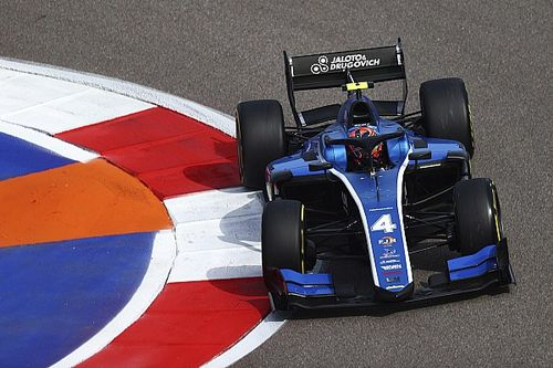 F2 Sochi: Drugovich outpaces Boschung in morning practice session