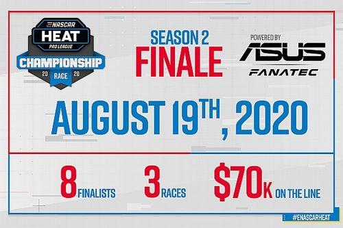 ASUS et Fanatec soutiennent la finale de l'eNASCAR Heat Pro League