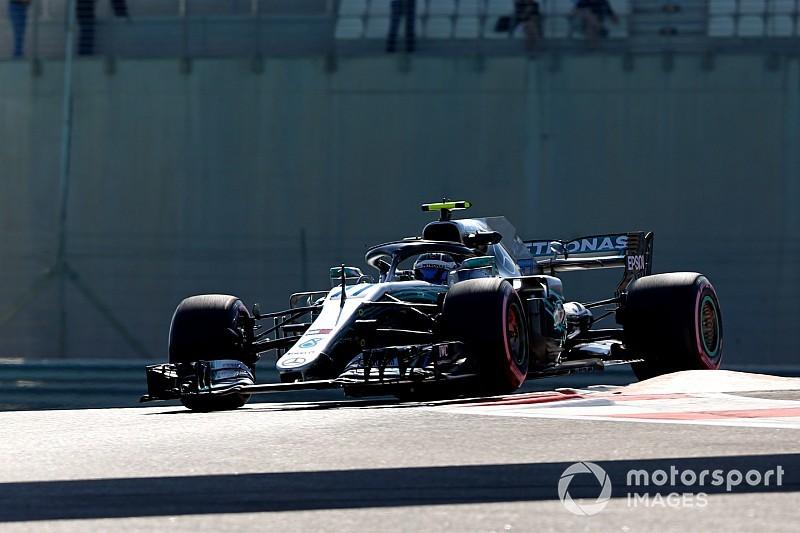 Боттас стал быстрейшим во второй тренировке Гран При Абу-Даби