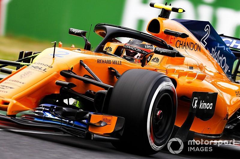 McLaren : Notre choix de pneus est mauvais mais