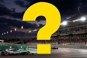 Всего год назад. Вспомните ли вы прошлый Гран При Абу-Даби?