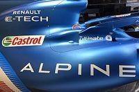 """F1新車""""雑感""""解説:アルピーヌA521。エンジンカウルの形状が変更、他とは一線を画す"""