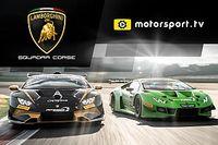 Lamborghini Squadra Corse lança canal dedicado na Motorsport.tv