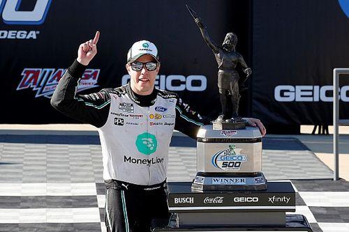Keselowski lideró una sola vuelta y ganó en Talladega