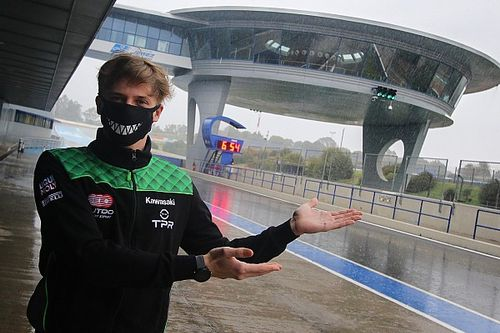 La pluie gâche les tests de Jerez, Zarco se remet dans le bain