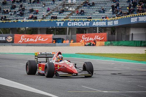 VIDEO: Ferrari F93A met prachtig V12-geluid op TT Circuit Assen
