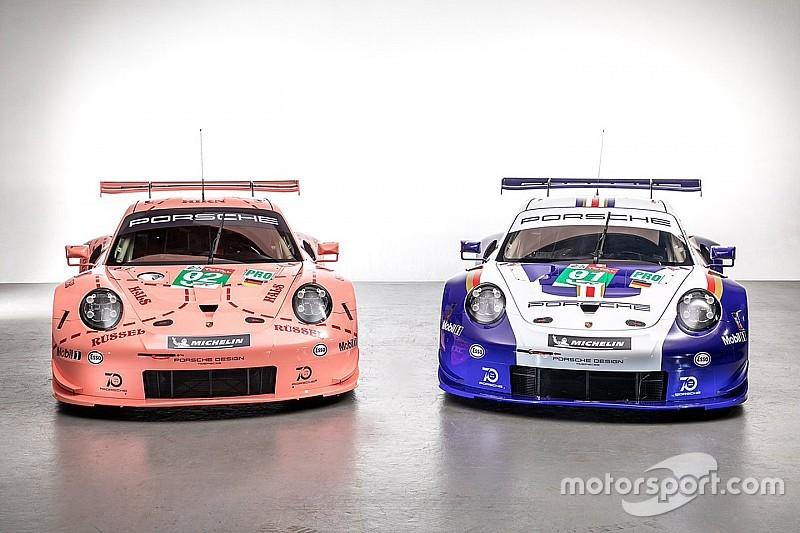 Porsche раскрасит свои машины в Ле-Мане в ретро-ливреи