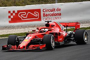 Formel 1 Testbericht Formel-1-Test Barcelona: Legt die Schneeketten an!