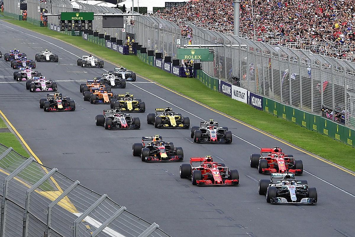Formula 1 reveals 2019 race start times