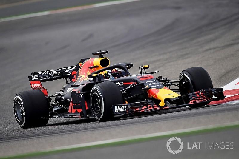 バーレーンFP1:リカルドが首位。メルセデス、フェラーリが続く
