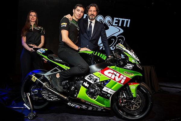 El Kawasaki Puccetti Racing del WorldSBK se presenta en Italia
