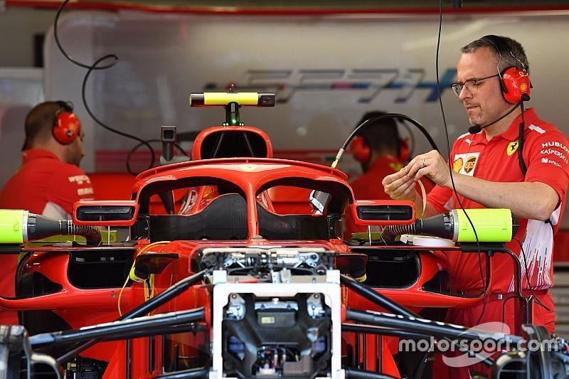 Ferrari desvela el aspecto de sus espejos en el Halo para Mónaco