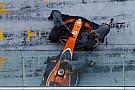 Foto confirma pintura inteiramente laranja da McLaren