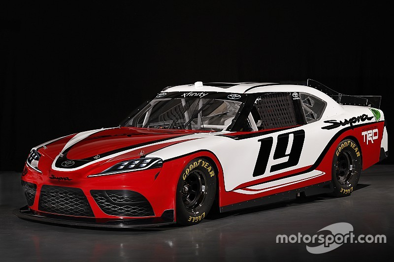 toyota 39 s supra to replace camry in the nascar xfinity series. Black Bedroom Furniture Sets. Home Design Ideas