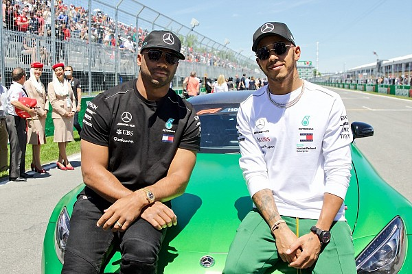 "NFL star Russell Wilson: Montreal F1 ""reminded me of Super Bowl"""