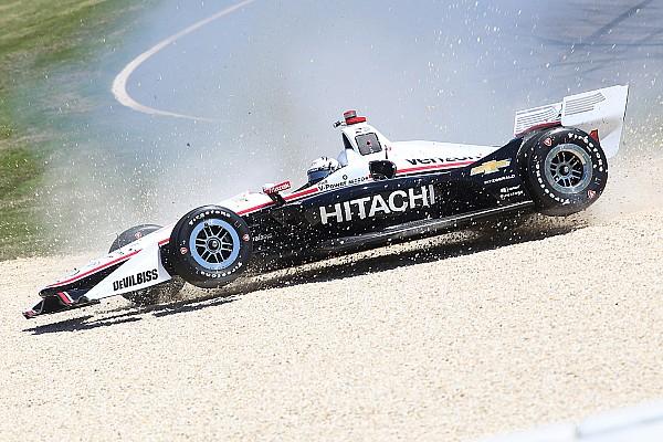 IndyCar Trainingsbericht Abflüge ohne Ende beim IndyCar-Training: Die Gründe