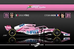 Formule 1 Preview Guide F1 2018 - Force India ou l'éternel exploit?