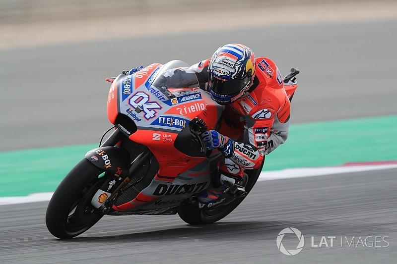 Fp Motogp Qatar Dovizioso Ungguli Rossi Marquez Ketiga