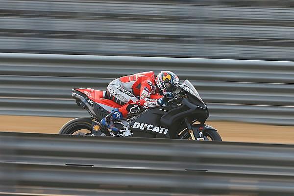 MotoGP Важливі новини Довіціозо задоволений відчуттями і темпом мотоцикла Ducati