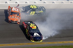 NASCAR Cup Breaking news Daytona 500: Jimmie Johnson wrecks out of all three Speedweeks races