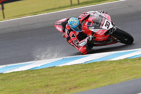 World Superbike Phillip Island WSBK: Melandri passes Sykes to win opener