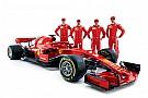 Kvyat y Giovinazzi también estuvieron en la presentación del Ferrari SF71H