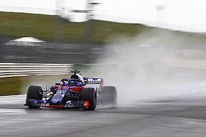 La Toro Rosso STR13 déjà aperçue en piste!