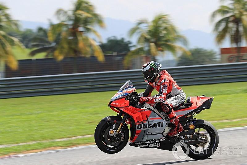 ロレンソ、非公式最速タイム記録も「まだバイクに改善の余地はある」