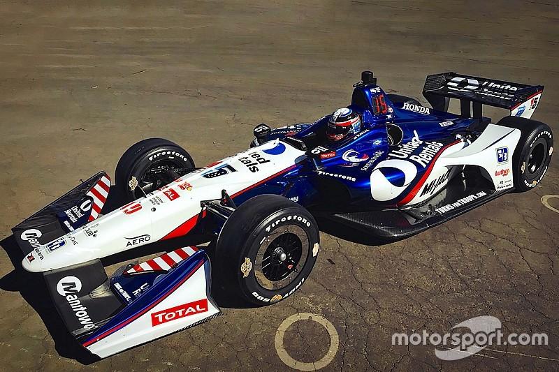 Rentals expands RLLR IndyCar sponsorship