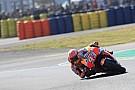 MotoGP Márquez lideró el warm up y Zarco tuvo una caída