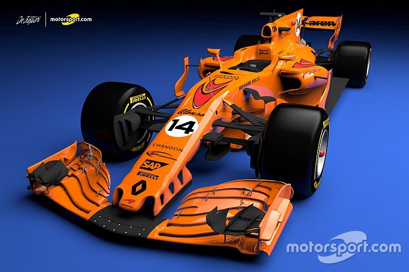 2018 renault f1 engine. perfect 2018 what a papaya orange 2018 mclaren f1 car could look like for renault f1 engine