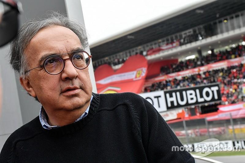 Illness forces Marchionne out of Ferrari