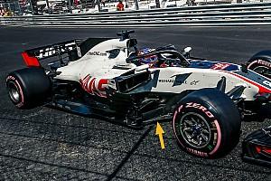 Haas contraint de retirer des pièces fragiles sur sa F1