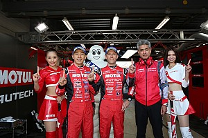Super GT Qualifying report Motegi Super GT: Nissan takes crucial pole in finale