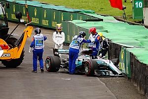 Formule 1 Actualités Hamilton s'élancera des stands à Interlagos