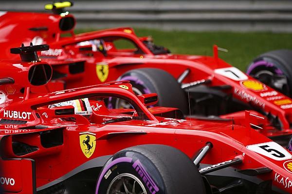 Formula 1 Breaking news Ferrari already backing Vettel over Raikkonen - Symonds