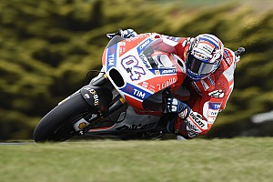 """MotoGP Últimas notícias Dovizioso: """"A posição no grid não é nossa realidade"""""""