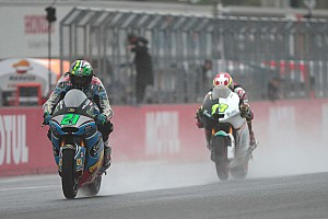 Moto2 Reactions Finis di depan Luthi, Morbidelli jaga peluang gelar