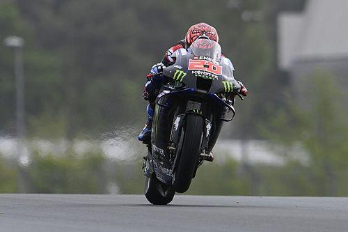 WK-stand na de MotoGP Grand Prix van Frankrijk