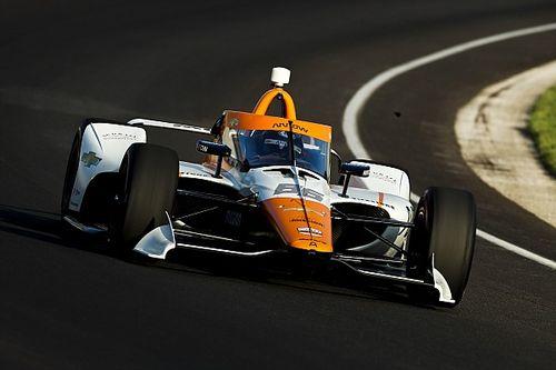 Montoya sexto en la sesión de novatos de Indianápolis