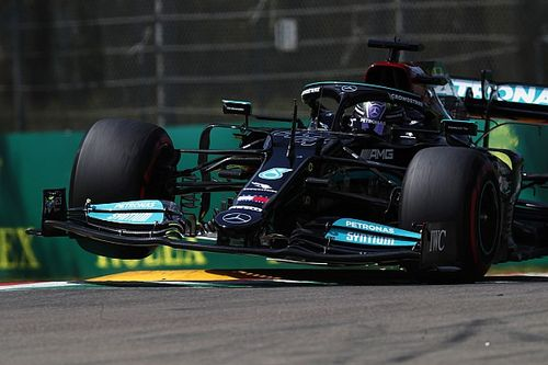 Hamilton never expected to beat Red Bulls in Imola qualifying