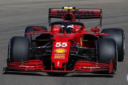 A Sainz aún le falta confianza con la Ferrari en las salidas