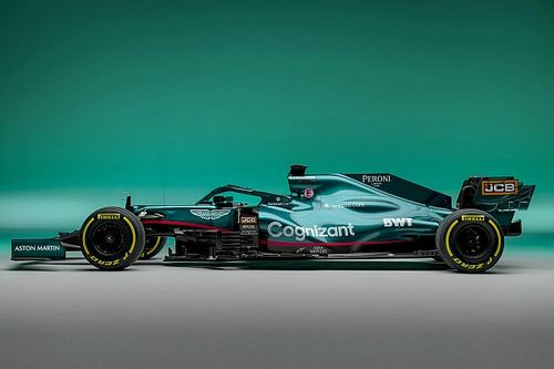 F1: A jornada de 12 meses da Aston Martin em busca da pintura ideal para seu carro