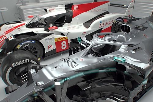 Mercedes F1 vs Toyota LMP1 : la comparaison technique
