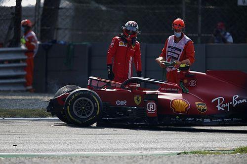 La FIA étudie le comportement du harnais dans l'accident de Sainz
