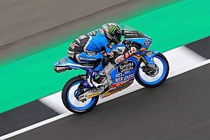 Moto3, Valencia, Libere 2: la pioggia esalta Lopez davanti a Bezzecchi e